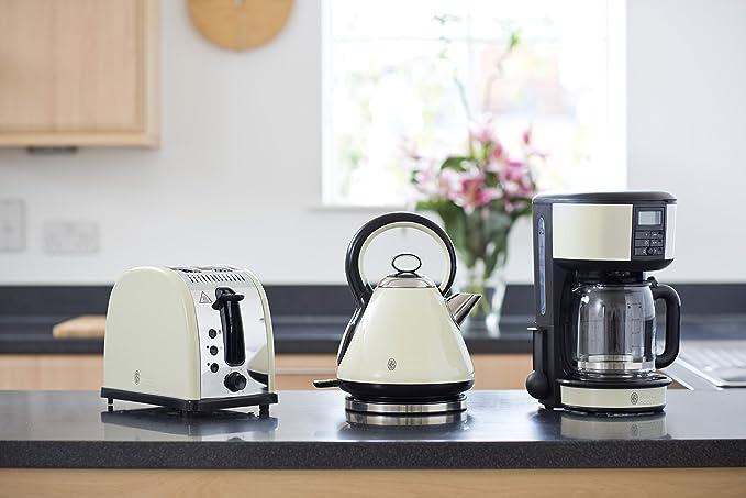 Russell Hobbs 20683 Legacy Coffee Maker - Cream by Russell Hobbs: Amazon.es: Hogar