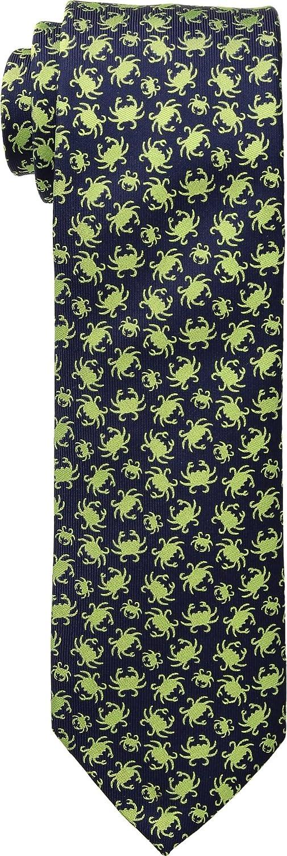 Eton Mens Crab Print Tie