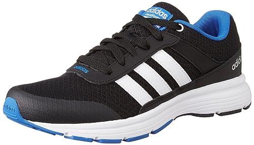 new arrivals c79e2 fb913 adidas Mens Cloudfoam VS City Running Shoes, Black (NegbasFtwbla  Blue)