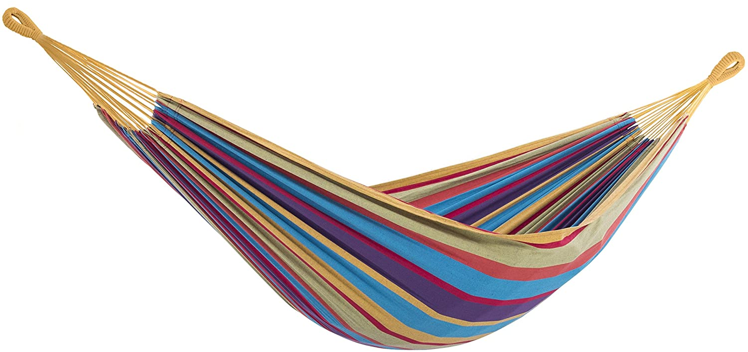 Vivere BRAZ220 Brazilian Hammock, Double, Tropical