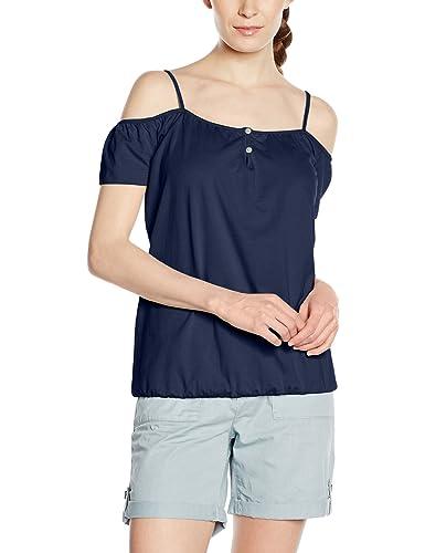 edc by Esprit Im Carmen Stil, T-Shirt Donna