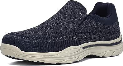 PAMRAY Zapatillas sin Cordones Mocasines para Hombre Sneaker Casuales Zapatillas de Deporte