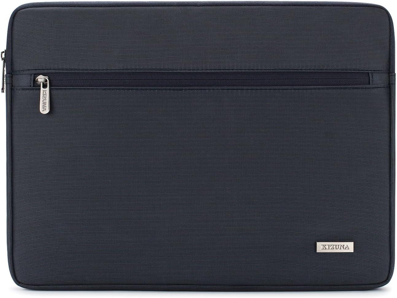 "KIZUNA 12.5-13 Inch Laptop Sleeve Computer Case Water Resistant Bag for 13.3"" MacBook Air 2020/Lenovo Yoga 730 720 C940/13.9"" Huawei MateBook X Pro/MateBook 14/Surface Laptop 3/Asus ZenBook/Dell,Navy"