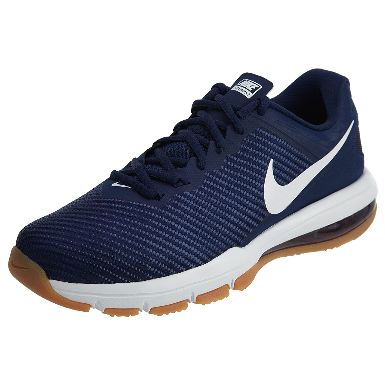 Nike Mens Air MAX Full Ride Training 1.5 Binary Blue White Mesh Trainers 46 EU 46 EU|Binary Blue White