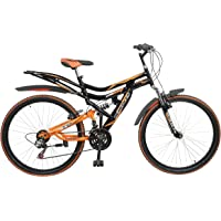 Hercules Topgear CX70 Dual Suspension 18 Speed Bicycle (26T)