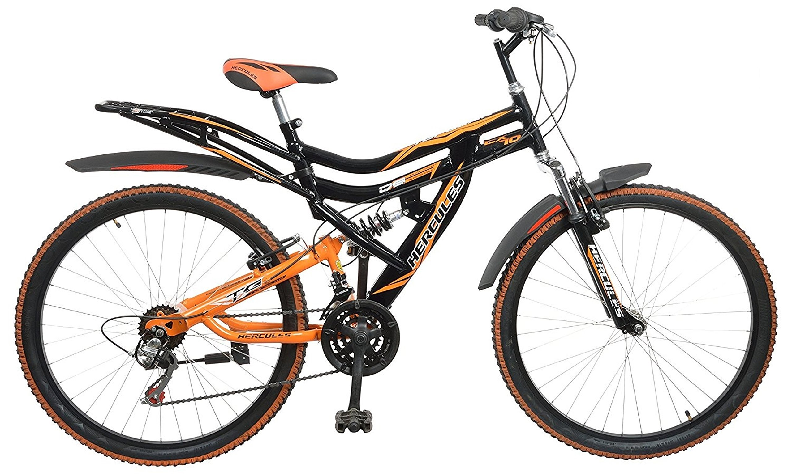 Hercules Topgear CX70 Dual Suspension 18 Speed Bicycle (26T) product image