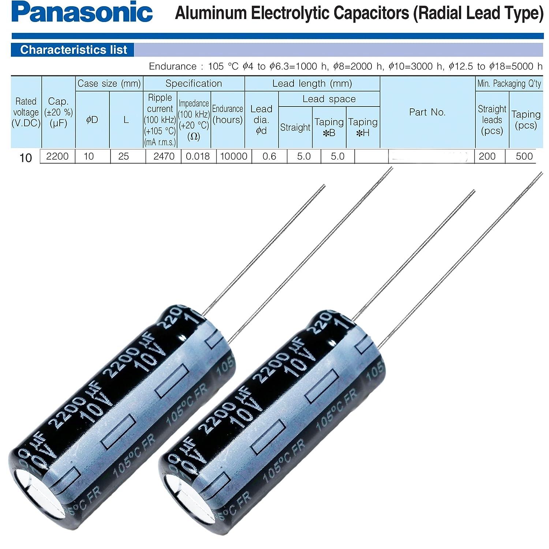 ELECTROLYTIC CAPACITOR 5x Condenser ELECTROLYTIC 1000uF 16V 105º C
