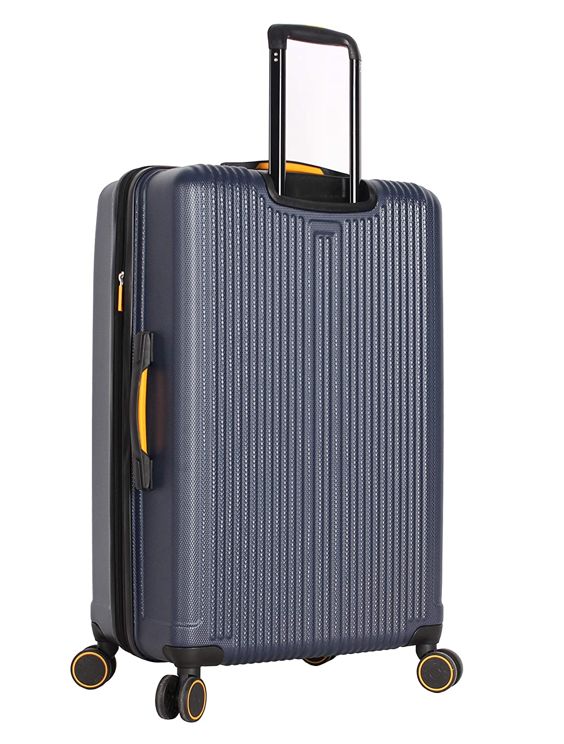 One Size, Tread Silver 20 27 31 Lucas Luggage 3 Piece Rolling Suitcase Set Hard Case With Spinner Wheels
