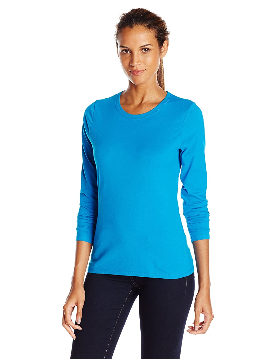 d05fb17e Hanes Womens Long Sleeve Tee Shirt: Amazon.ca: Clothing & Accessories