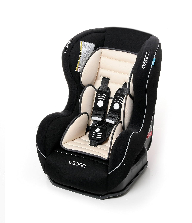 Osann Kinderautositz SafetyONE Isofix Night schwarz, 9 bis 18 kg, ECE Gruppe 1, von 9 Monaten bis ca. 4 Jahre nutzbar 3507460993189