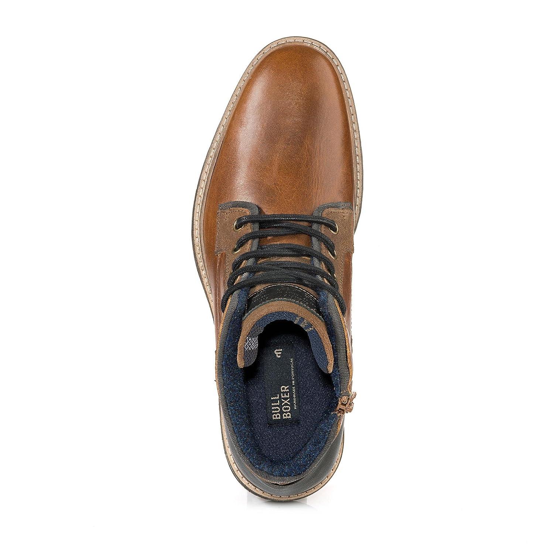 Bullboxer Men's 870K56088ACOBK 870K56088ACOBK Men's Ankle Strap Braun Größe  8 UK  Amazon ... 877ae3