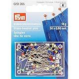 PRYM 32562 Boîte à épingles Combinaison/Verre/Métal Multicolore 5,5 x 4 x 0,02 cm