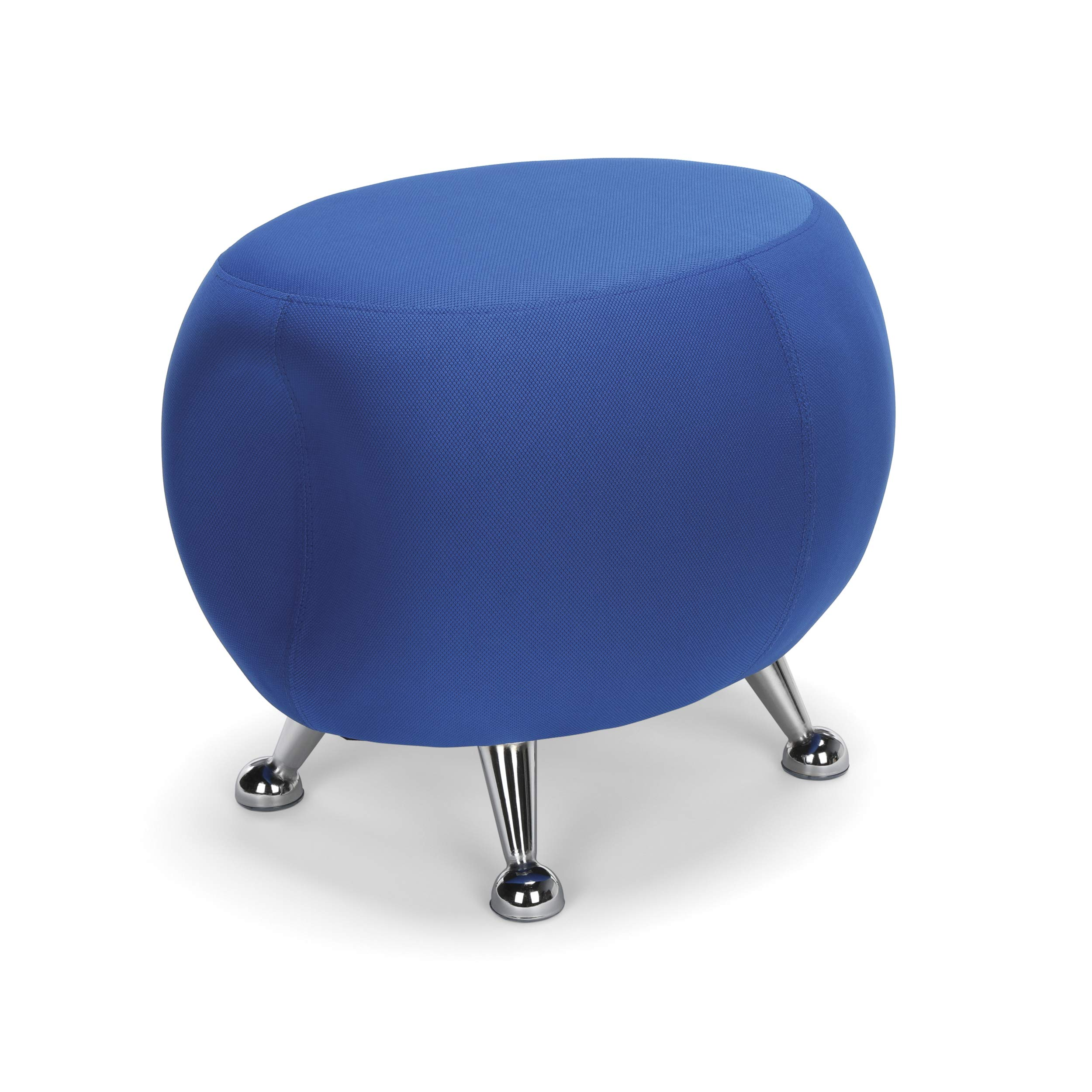 OFM Jupiter Series Fabric Ball Stool, in Blue (2001-2336) by OFM