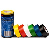 3m uso General cinta de vinilo codificación de Color, k6°C38