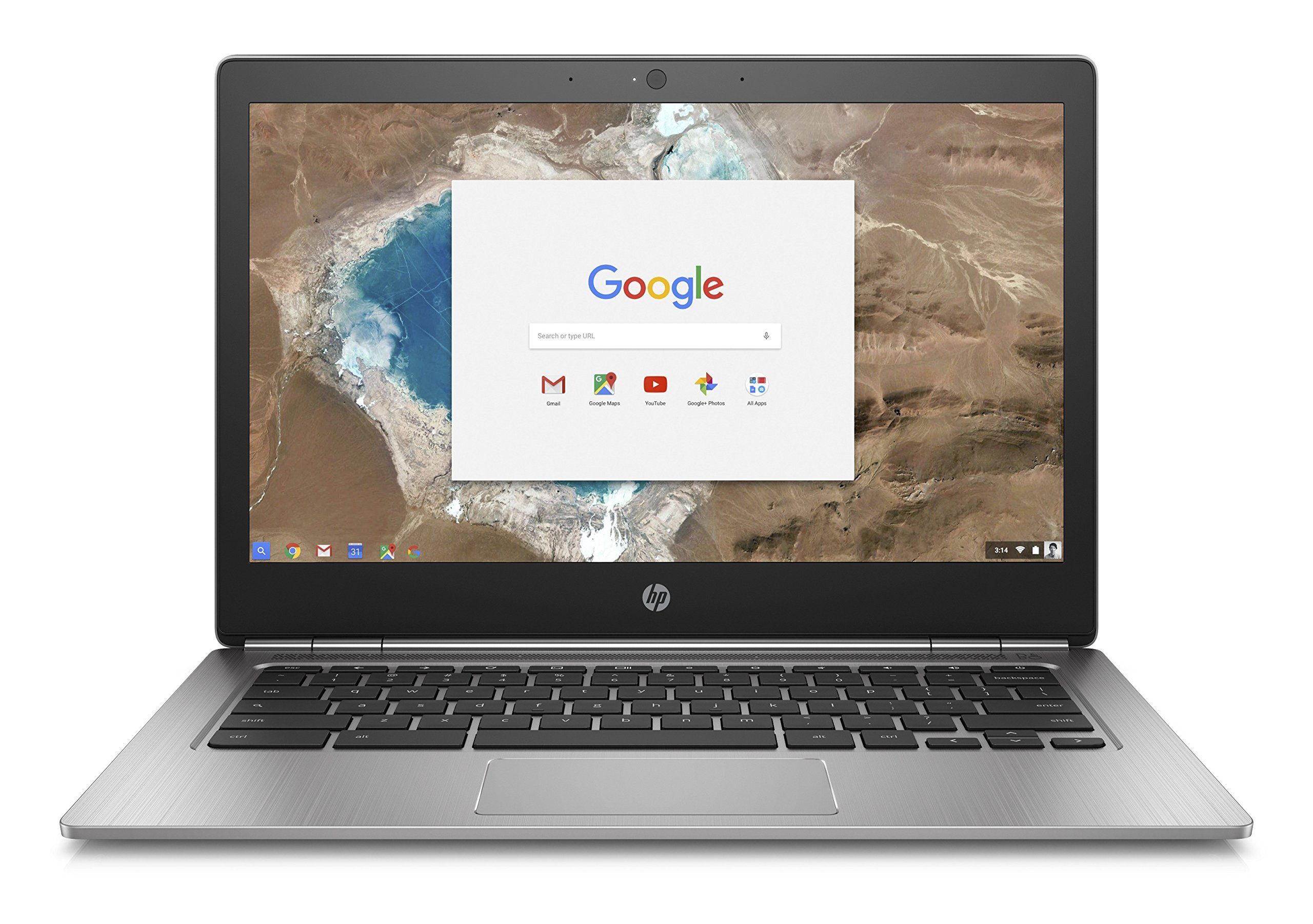 HP 13-G1 13.3'' QHD+ Aluminum Chromebook, Intel Intel 4405Y Dual-Core, 32GB SSD, 4GB DDR3, 802.11ac, Bluetooth, ChromeOS (Certified Refurbished)