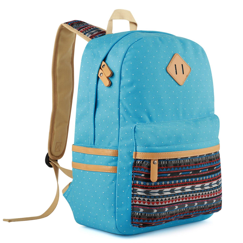 Amazon.com: Set de mochila escolar de tela de 3 piezas para ...