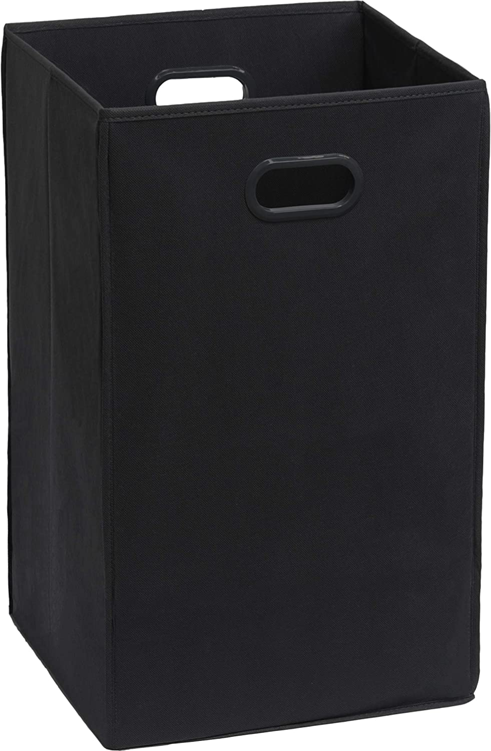Simple Houseware Foldable Closet Laundry Hamper Basket, Black