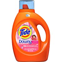 Deals on Tide w/Downy Liquid Laundry Detergent Soap April Fresh 92-Oz