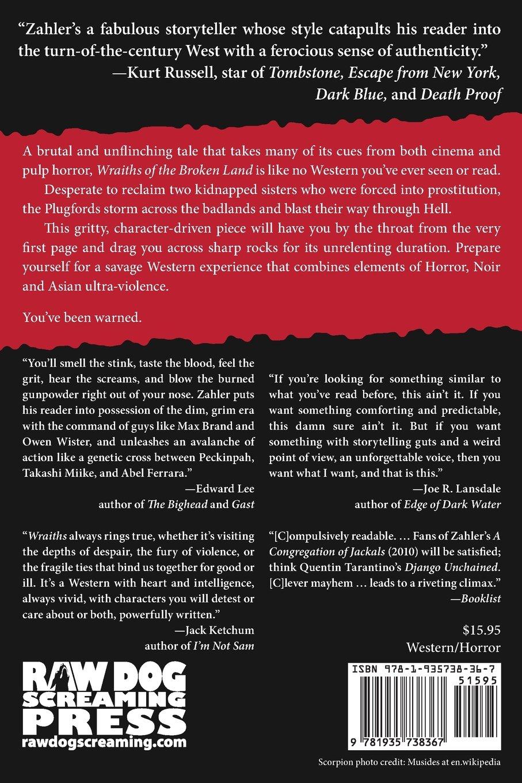 Wraiths of the Broken Land: Amazon.es: S. Craig Zahler: Libros en idiomas extranjeros