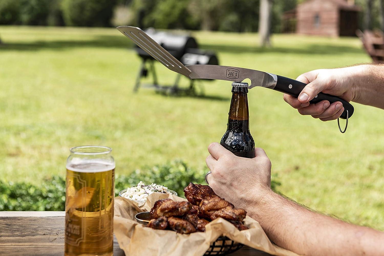 Oklahoma Joes 7826131R06 Blacksmith 2pc Tool Set Black