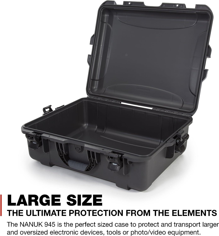 Olive Nanuk 945 Waterproof Hard Case Empty