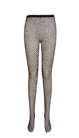 3bcebea153793 Ladies fishnet tights (medium net, 2 pairs black): Amazon.co.uk: Clothing