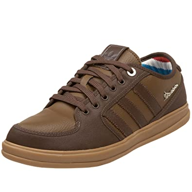 adidas Originals Mens Vespa Px Sneaker,Espresso/Leather/Gum ...