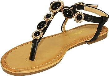 71bb330f1062 Steven Ella Women s Adjustable Ankle Strap Thong Sandals