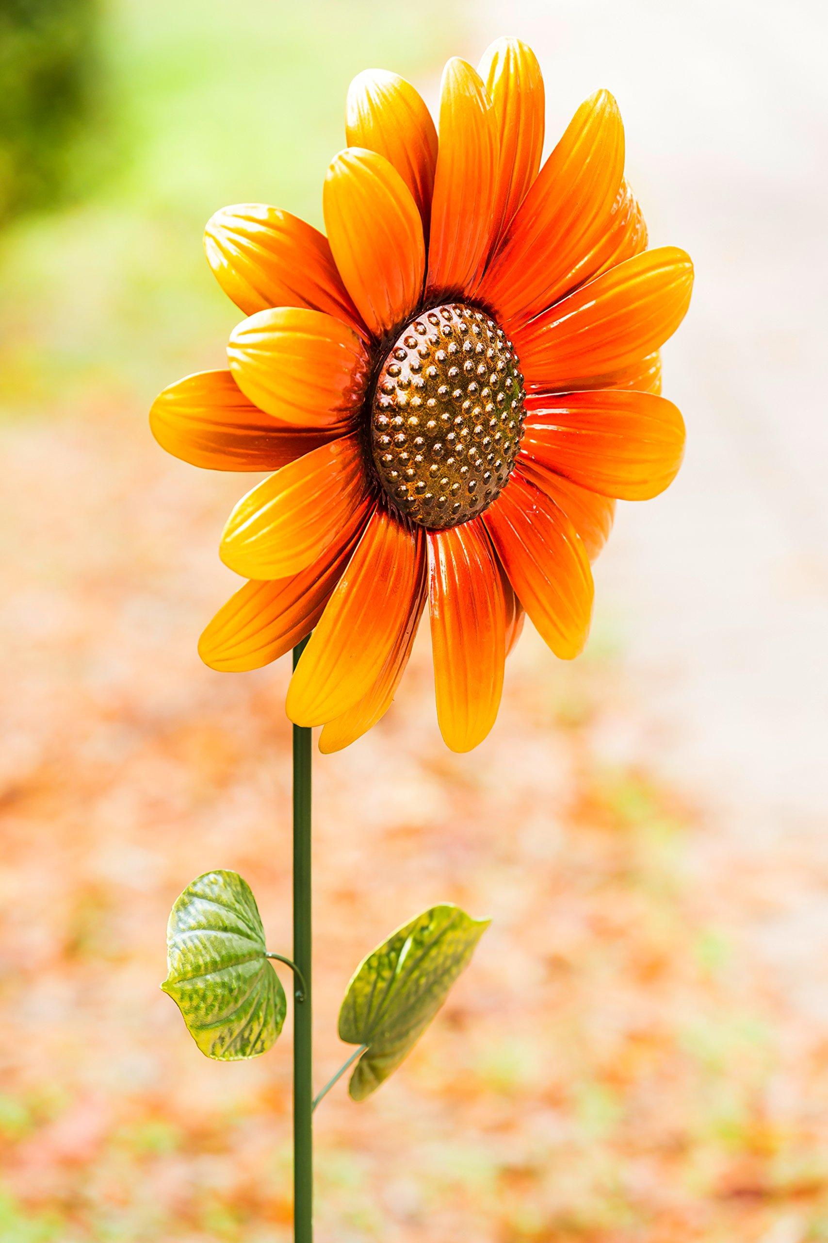 New Creative Sunflower Blossom Stake