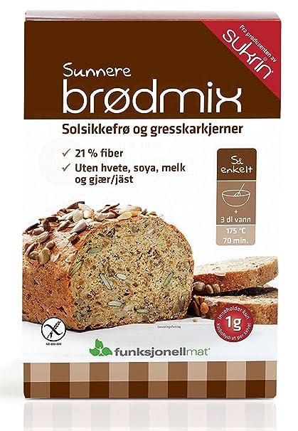 Sukrin - Mezcla de pan – semillas de girasol/calabaza ...