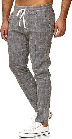 Red Bridge Pantalon Para Hombre Slim Fit Rayas Casual A Cuadros Moda Elastico Finos Chino Amazon Es Ropa Y Accesorios
