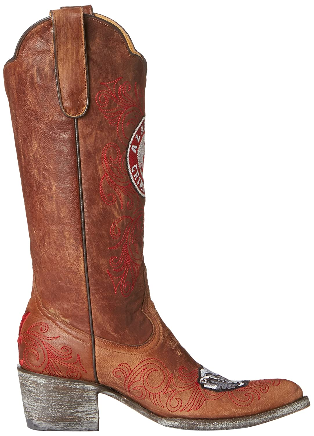 NCAA Alabama Crimson Tide B00A8O5KQC Women's 13-Inch Gameday Boots B00A8O5KQC Tide 5 B (M) US|Brass 382d17