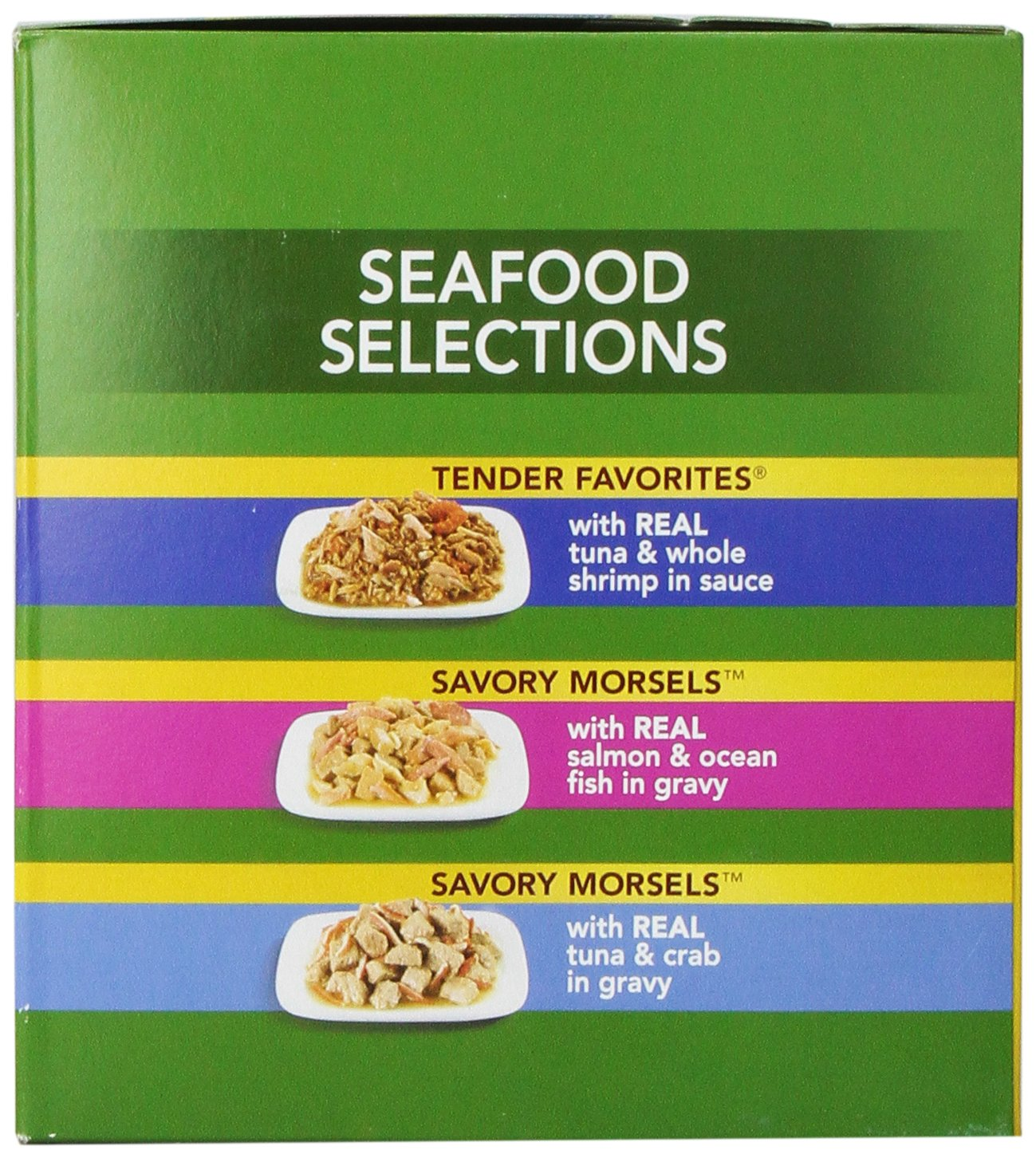 Meow Mix Seafood Selections Variety Pack Wet Cat Food, 2.75-Ounce (pack of 24) by Meow Mix (Image #3)