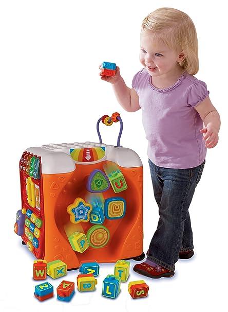 Amazon Com Vtech Alphabet Activity Cube Toys Games