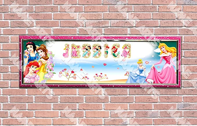 Amazon.com: Personalizado/Personalizado Disney Princess # 2 ...