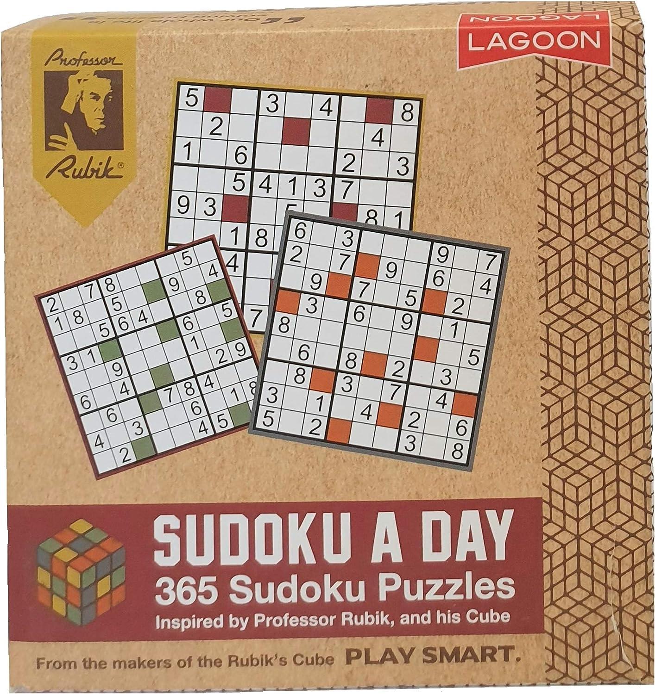 Lagoon Group Rubik Sudoku A Day - Bloque de Escritorio: Amazon.es: Juguetes y juegos