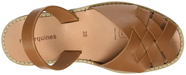 Womens Avarca Compostelle Cognac Open Toe Sandals Minorquines FQL6vftqLb