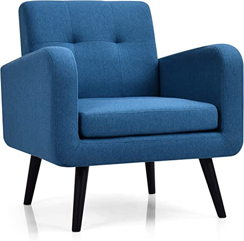 Giantex Modern Upholstered Accent Chair