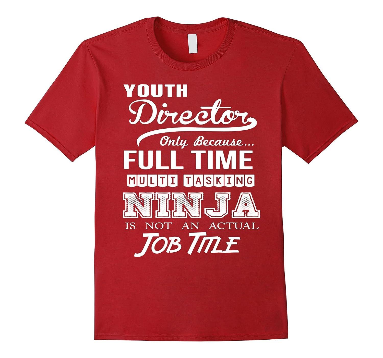 Youth Director Job Title Shirt-TD
