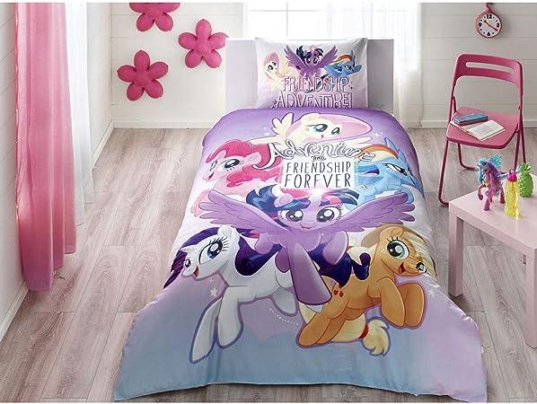 Copripiumino My Little Pony.Single Kids Original My Little Pony Adventure Movie 100 Cotone