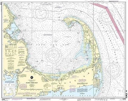Amazon Com 13246 Cape Cod Bay Fishing Charts And Maps Sports