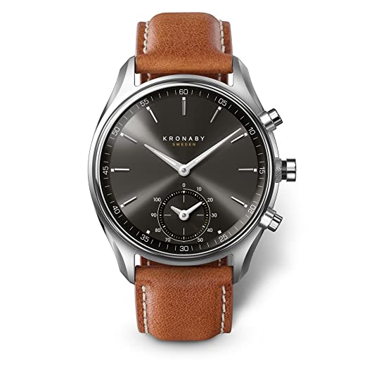 228d3974416 KRONABY SEKEL Men s Hybrid Smartwatch A1000-0719 Watch a Traditional Watch  with The Capabilities of