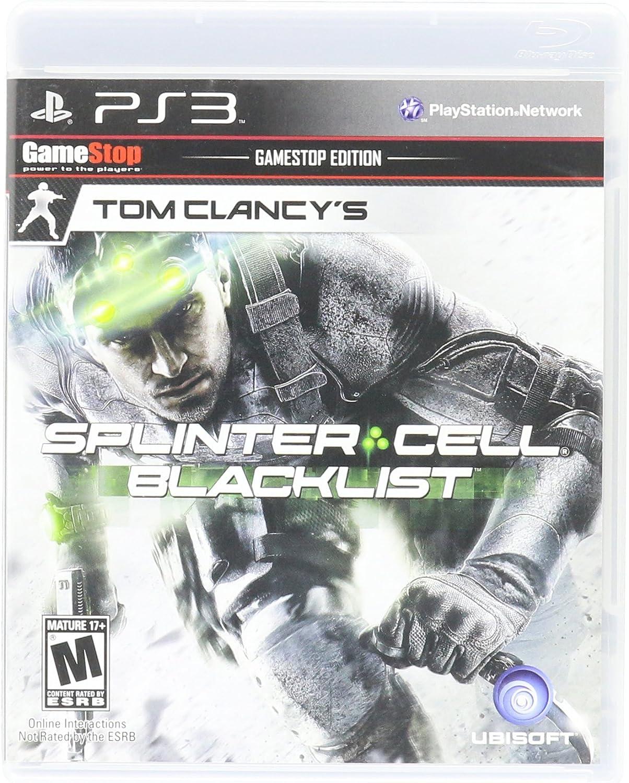 Amazon Com Tom Clancy S Splinter Cell Blacklist Gamestop Edition Toys Games