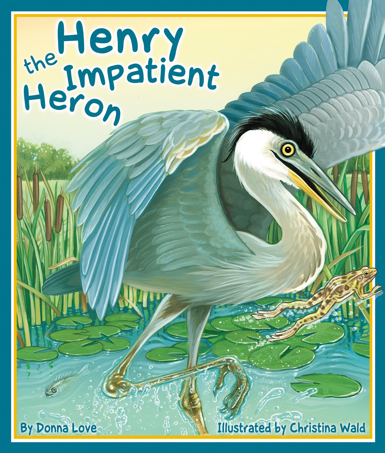 Read Online Henry the Impatient Heron (Arbordale Collection) ebook