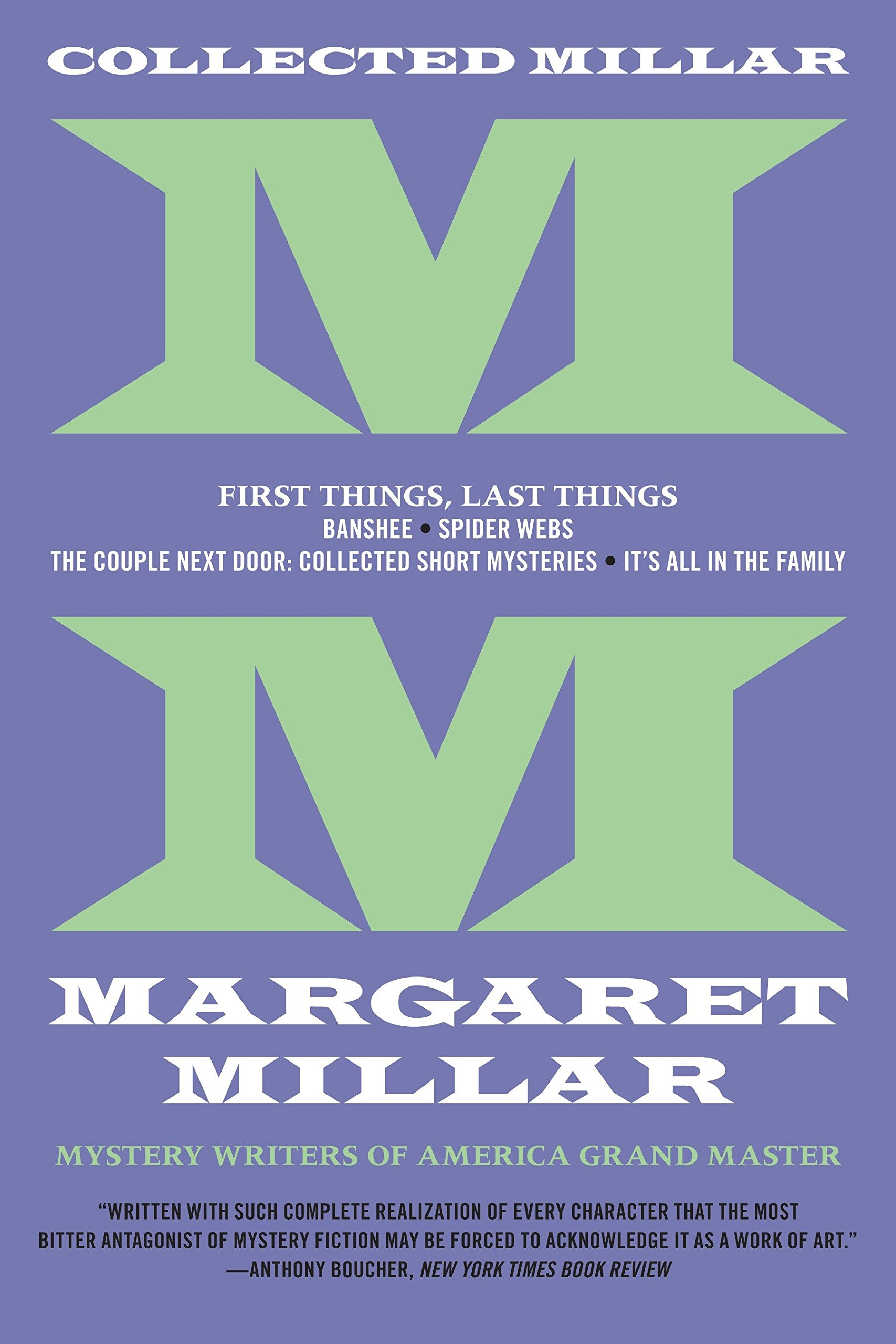 Amazoncom Collected Millar First Things Last Things