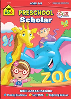 preschool scholar workbook ages 3 5 tracing letters numbers learning shapes - Pictures For Preschool