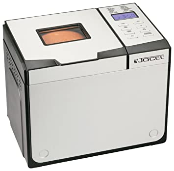 Jocel BM1309-B Negro, Color blanco 650W - Panificadora (Aluminio, Negro, Color blanco, 1 kg, Masa, 750 g, LCD): Amazon.es: Hogar