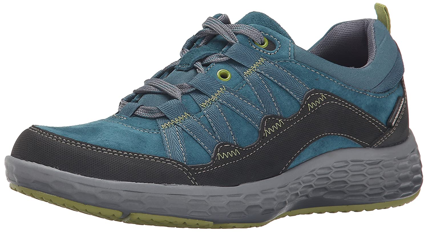 Cobb Hill Rockport Women's Freshexcel Waterproof Flat B00SK54Q5W 9 B(M) US|Teal
