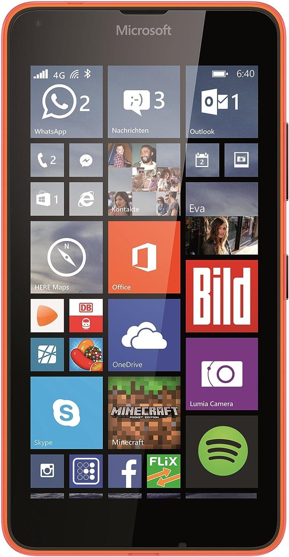 5,7 Zoll Microsoft Lumia 640 XL Dual-SIM Smartphone wei/ß Touch-Display, 8 GB Speicher, Windows 10 14,5 cm