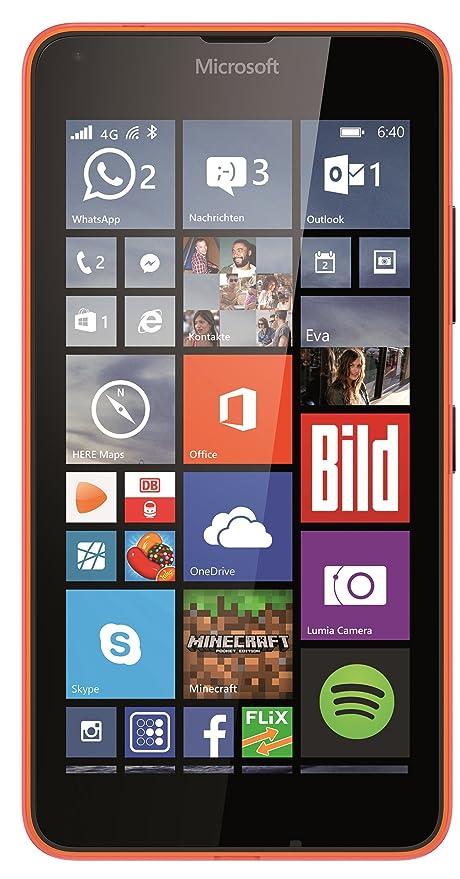 Microsoft Lumia 640 LTE 8GB 4G Orange - smartphones: Amazon